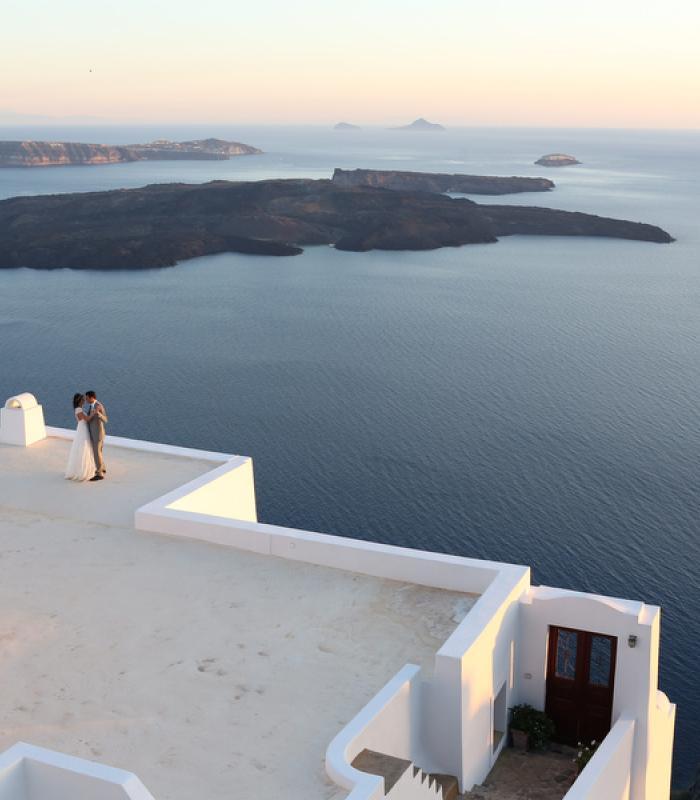 M&D Destination Wedding Santorini